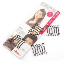Hot Fashion 2 Pack Japan Style Bangs Styling Clips Tools Front Hair Comb Clips