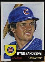 2018 Topps Living Set Ryne Sandberg #64 Chicago Cubs SP Print Run - 7212