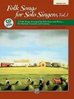 Folk Songs for Solo Singers : Medium Low, Paperback by Althouse, Jay (COM), B...