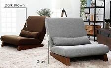 Single Seat Sofa Bed Modern Fabric Japanese Living Room Furniture Armless Decors