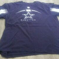 Dallas Cowboys Football Blue Team Apparel Short Sleeve T-shirt Size xl