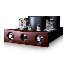 TANKE X8 Hi-End EL34 Push-pull Vacuum Tube Amplifier Stereo HiFi Power Amp 40W×2