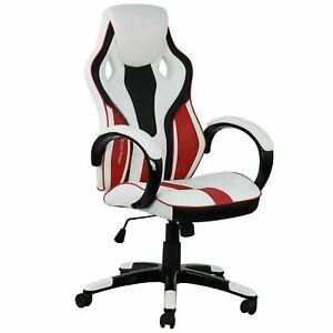 Refurbished  X Rocker Maverick Ergonomic Office Gaming Chair - White.