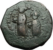 HERACLIUS & son CONSTANTINE 610AD Large Authentic Ancient Byzantine Coin i59345