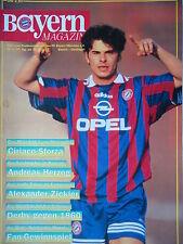 Programm 1995/96 FC Bayern München - Bayer Uerdingen