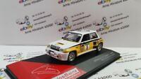 Renault 5 Turbo - Rally El Corte Inglés 1985  1:43   avec boite plexi  ( neuf )
