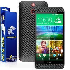 ArmorSuit MilitaryShield HTC One E8 Screen Protector + Black Carbon Fiber Skin!