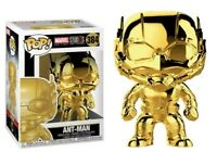 Ant-Man #384 Funko Pop! Marvel Studio 10th Anniversary Gold Chrome Vinyl BNIB