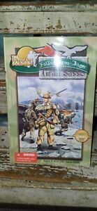 """2000 The Ultimate Soldier Fallschirm-Jager Gran Sasso  WWII 12""""action figue(040)"""