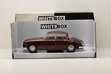 JAGUAR MKII DARK RED 1960 WHITEBOX 1/24 NEUVE EN BOITE