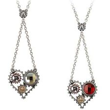 Coeur Du Moteur Pendant - Alchemy Gothic Empire Steampunk Heart Jewellery P708