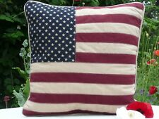 Union Jack / American Stars and Stripes Filled Cushion