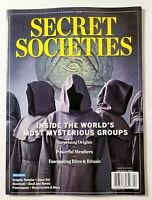 NEW Secret Societies Inside The Most Mysterious Groups 2020 Centennial Magazine