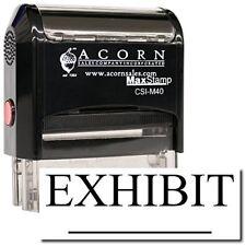 MaxStamp - Self-Inking Exhibit Stamp (Black Ink)