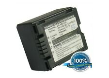 Battery for Panasonic NV-GS180 Hitachi DZ-MV750 Series NV-GS150 NV-GS22EG-S NV-G