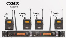 Pro Audio Uhf Wireless In Ear Monitor System Monitoring Sr2050 Type 4 Receiver
