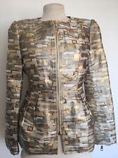 Josh V Victoria Deigner Jacket Size S Gold