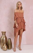 LOST IN LUNAR - Santana off the Shoulder Dress RRP $91