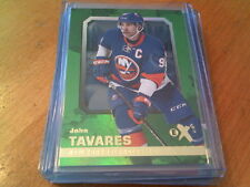 2016-17 Fleer Showcase JOHN TAVARES EX Green Emerald#12