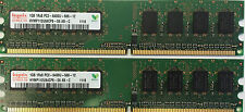 2GB 2X 1GB PC2-6400 800 Mhz Desktop Memory DDR2 RAM Dual Channel Non-ECC DIMM