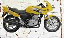 Honda CB500S 1997 Aged Vintage SIGN A3 LARGE Retro