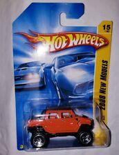 HOT WHEELS 2008 NEW MODELS HUMMER H2 SUT #015/196 ORANGE