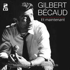 GILBERT BECAUD - ET MAINTENANT-50 GROßE ERFOLGE 2 CD NEU