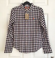 """JOULES BOYS SNAPPY GINGHAM SHIRT - AGE 11/12 - 60""""/152cm BLUE CHECK SHIRT"""