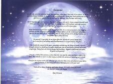 Max Ehrmann's Desiderata Inspirational Words of Wisdom Graduation Poem Gift