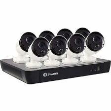 Swann CCTV System - 16 Channel 5MP NVR with 8 x 5MP Super HD Thermal Sensing Cam