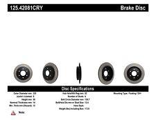 High Carbon Alloy Brake Disc fits 2004-2009 Nissan Titan Armada Pathfinder Armad