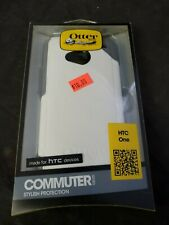 OTTER BOX Commuter Phone Cover for HTC One (M8) White/Gray Protective