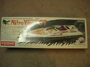 Kyosho Nitro Viper GT RARE R/C Boat