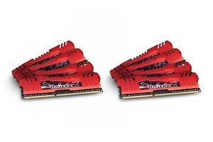 32GB G.Skill DDR3 PC3-14900 RipjawsZ Series (9-10-9-28) Quad2 Channel kit 8x4GB