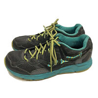 Montrail Trail Running Hiking Shoes Womens US 9M Gray Blue Lace Up Athletic