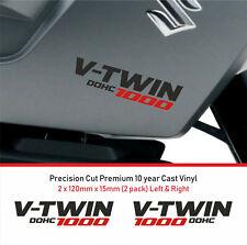 1000 V-Twin Decal Sticker premium 10 year Vinyl FIT Suzuki V-Strom NON OEM 2
