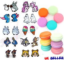 Cute Cartoon Stud Earrings + Macaron Case / Kawaii Gift - UK SELLER
