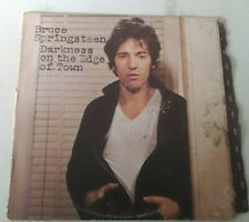 Bruce Springsteen Darkness on the Edge of Town  Columbia lP Vinyl Record TESTED