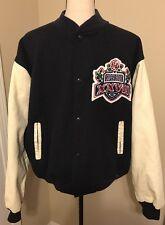 Vintage Chalkline Super Bowl XXVII Letterman Jacket Medium Frito Lay USA