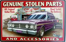 GENUINE STOLEN PARTS FORD GARAGE, ROAD TESTED BY OUTLAWS XY1970-1972