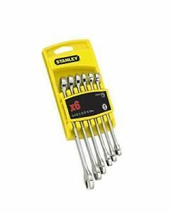 Stanley 494646 Fatmax Combination Spanner Set - Metric (6 Pieces)