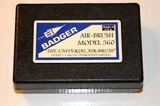 Badger Air-Brush Co. Model 360 Universal Airbrush Set