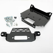 Winch Mount Plate For Polaris 15-16 RZR900 & 14-16RZR 1000 & General 101220 New