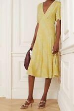 £286 Genuine DVF Dress, Diane Von Furstenberg Dress, Idris Crepe Dress, Size 10
