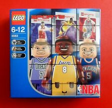 Kobe BRYANT LEGO # 3563 BASKET NBA 2003 - BOX NEW & SEALED 3 MINIFIGS
