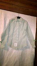 US Army Military Green Long Sleeve Woman's Tuck-In Blouse Size 8R AG-415 NWOT
