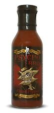 Dr Burnorium Psycho BBQ Juice 375ml Hot Ghost Chilli Pepper Barbecue Sauce Gift