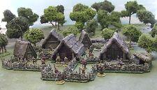28MM antigua o aldea de la Edad Oscura - 'Pintada Para Coleccionistas estándar'