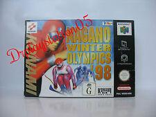 Nagano Winter Olympics 98 Nintendo 64 100% Pal Version Game( AUS ) New In Box