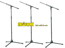 3 Pack K&M 21090B  210/9 Mic Stand & Boom Arm New! Pro Gear! Free Shipping!! k&m